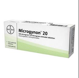 Microgynon 20 6 x 21tb