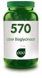 Afbeeldingen van AOV 570 IJzer bisglycinaat 15 mg