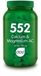 Afbeeldingen van AOV 552 Calcium & Magnesium AC 150 mg / 100 mg