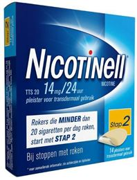 Afbeeldingen van Nicotinell pleisters TTS20 14mg 14st