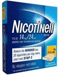 Afbeeldingen van Nicotinell pleisters TTS20 14mg 7st