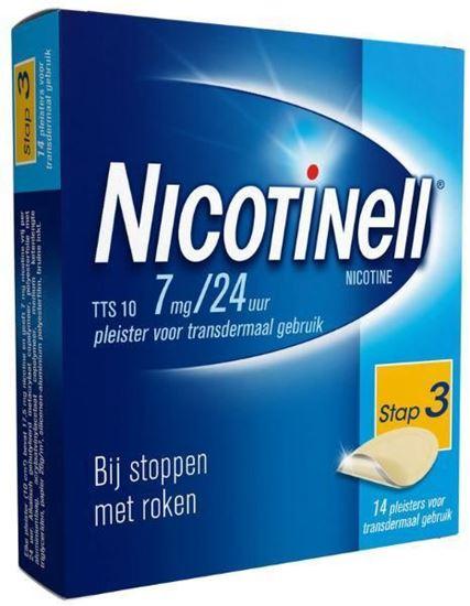 Afbeelding van Nicotinell pleisters TTS10 7mg 14st