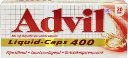 Afbeeldingen van Advil Liquid Caps 400 20caps