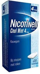Afbeeldingen van Nicotinell kauwgom Cool Mint 4mg 48st