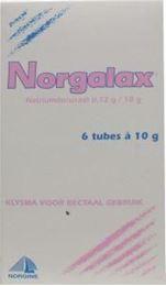 Afbeeldingen van Norgine Norgalax 10g 6 tubes