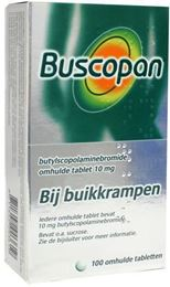 Afbeeldingen van Buscopan 10mg 100tb