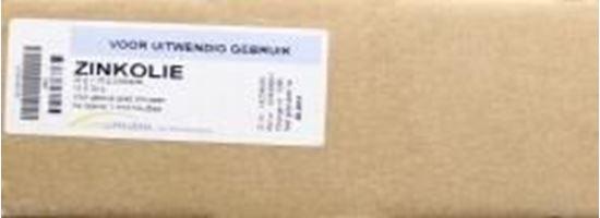 Afbeelding van Zinkoxidesmeersel 450g