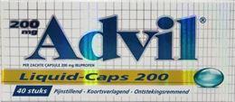 Afbeeldingen van Advil Liquid Caps 200 40caps