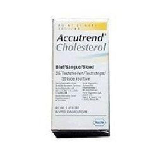 Afbeelding van Accu-Chek Aviva cholesterol teststrip 25st