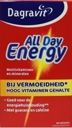 Afbeeldingen van Dagravit All day energy rood