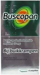 Afbeeldingen van Buscopan 10mg zetpillen 6st