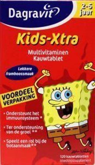 Afbeelding van Dagravit Multi kids framboos 2-5 jaar