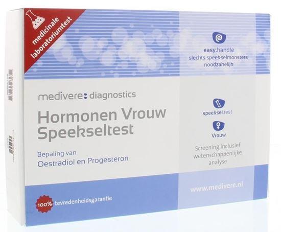 Afbeelding van Medivere Hormonen Vrouw speekseltest