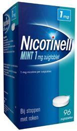 Afbeeldingen van Nicotinell Mint 1mg zuigtablet 96tb