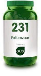 Afbeeldingen van AOV 231 Foliumzuur 5 mg