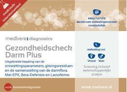 Afbeeldingen van Medivere Gezondheidscheck darm plus