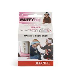 Afbeeldingen van Alpine Muffy baby pink oorkappen