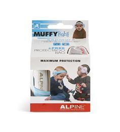 Afbeeldingen van Alpine Muffy baby blue oorkappen