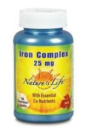 Afbeeldingen van Natures Life Iron complex 25mg