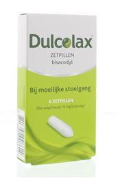 Dulcolax 10mg zetpillen 6st