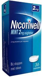 Afbeeldingen van Nicotinell Mint 2mg zuigtablet 36tb