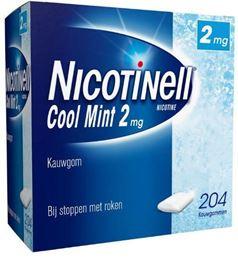 Afbeeldingen van Nicotinell kauwgom Cool Mint 2mg 204st