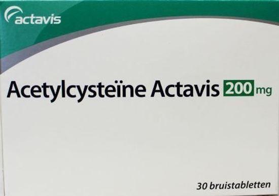 Afbeelding van Actavis Acetylcysteine 200mg bruistablet 30tb