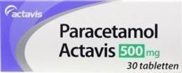 Afbeeldingen van Actavis Paracetamol 500mg 30tb