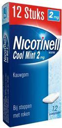 Afbeeldingen van Nicotinell kauwgom Cool Mint 2mg 12st