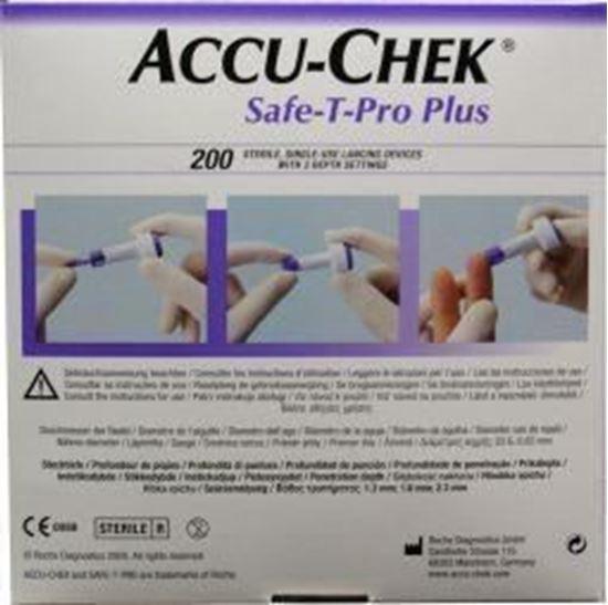 Afbeelding van Accu-Chek Safe-T-Pro Plus lancet 200st