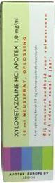 Afbeeldingen van Apotex xylometazoline HCI 1mg/ml spray 10ml