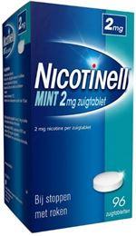 Afbeeldingen van Nicotinell Mint 2mg zuigtablet 96tb