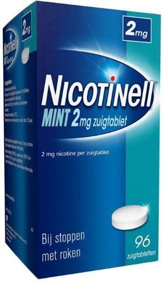 Afbeelding van Nicotinell Mint 2mg zuigtablet 96tb
