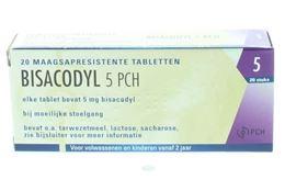 Bisacodyl Pch 5mg 20tb