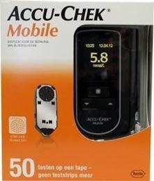 Afbeeldingen van Accu-Chek Mobile bloedglucosemeter met 50 testen