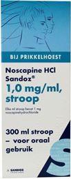 Afbeeldingen van Sandoz Noscapine HCL 1mg/ml siroop 300ml