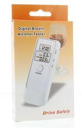 Afbeeldingen van Testjezelf.nu Digitale Alcoholtester met dubbel LCD
