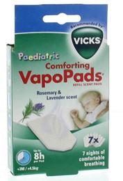 Afbeeldingen van Vicks VapoPads kind 7st