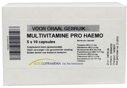 Afbeeldingen van Added Pharma Multivitamine pro haemo