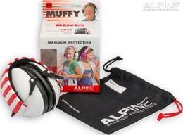 Afbeeldingen van Alpine Muffy white oorkappen