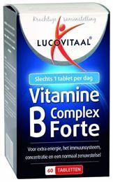 Afbeeldingen van Lucovitaal Vitamine B complex forte