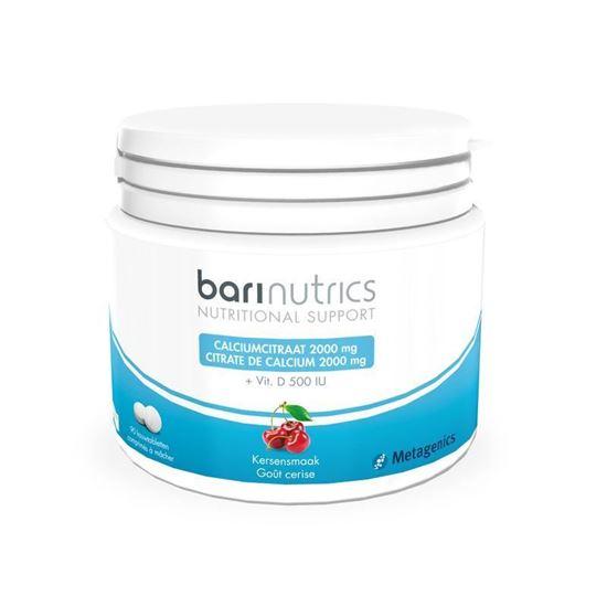 Afbeelding van Barinutrics Calciumcitraat kers