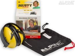 Afbeeldingen van Alpine Muffy smile yellow oorkappen