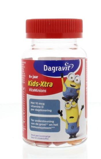 Afbeelding van Dagravit Kids-Xtra vitaminions gums 6+