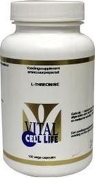 Afbeeldingen van Vital Cell Life Threonine 500 mg
