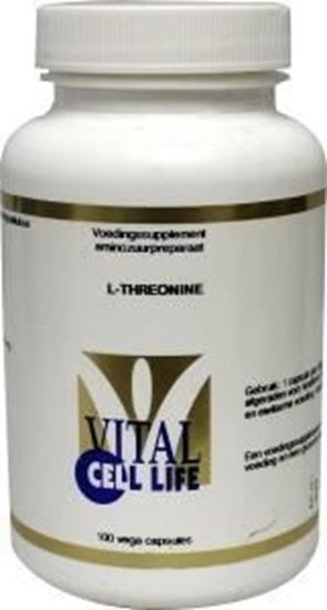 Afbeelding van Vital Cell Life Threonine 500 mg