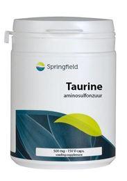 Afbeeldingen van Springfield Taurine 500 mg