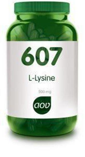 Afbeelding van AOV 607 L-Lysine 500 mg