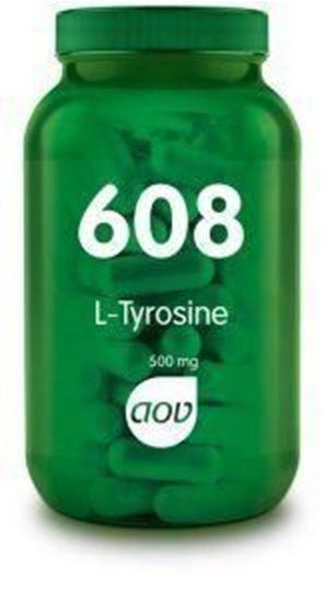 Afbeelding van AOV 608 L-Tyrosine 500 mg