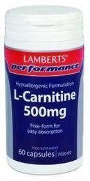 Afbeeldingen van Lamberts L-Carnitine 500 mg
